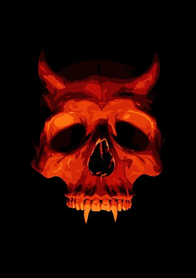 Devil Skull by SJ-Graphics