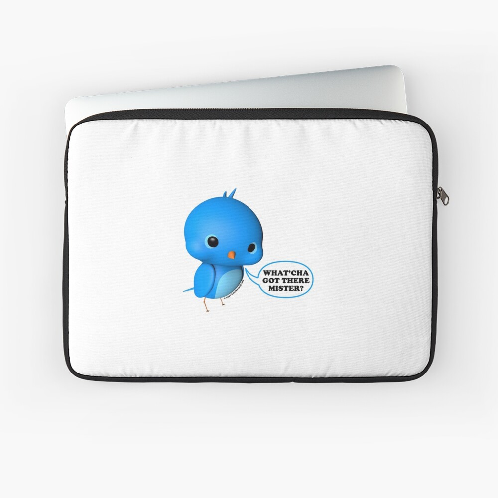 B.B. Bottoms - What'cha Got There Mister?!? Laptop Sleeve