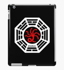 Dharma Initiative - The Hydra Station Logo (Lost TV Show) iPad Case/Skin