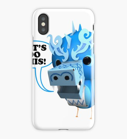 B.B. Dragons - Let's Do This! iPhone Case