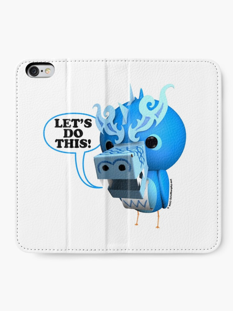 Alternate view of B.B. Dragons - Let's Do This! iPhone Wallet