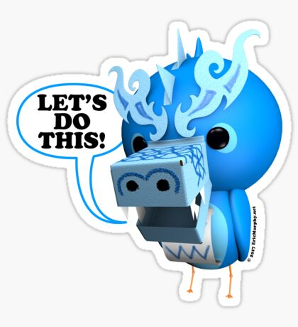 B.B. Dragons - Let's Do This! Sticker