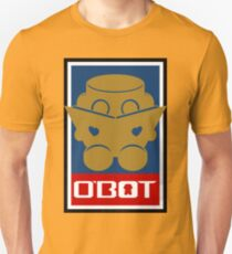 O'BOT: Love a Book (Gold) 2.0 Slim Fit T-Shirt