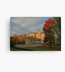 Bournemouth Town Hall & Cenotaph Canvas Print