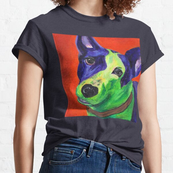 Ace the Australian Cattle Dog  Classic T-Shirt