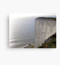 Chalk Cliffs Canvas Print