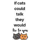 Katzen von InspiredByMusic