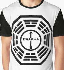 Dharma Initiative - The Arrow Station Logo (Lost TV Show) Graphic T-Shirt