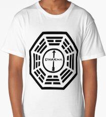 Dharma Initiative - The Arrow Station Logo (Lost TV Show) Long T-Shirt