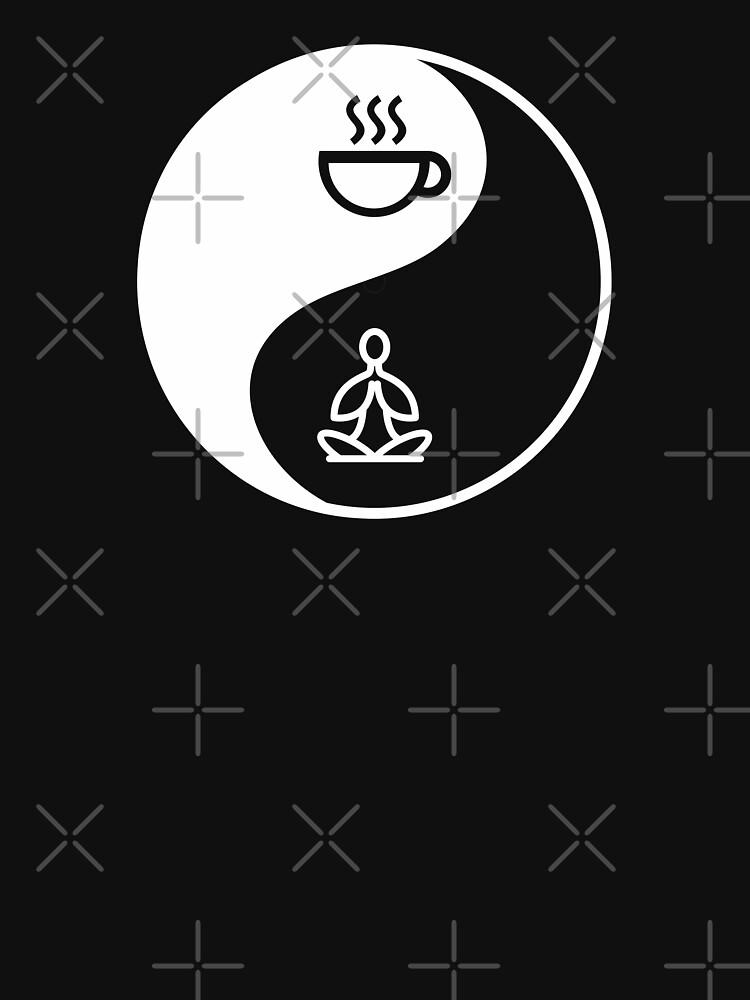 Yin Yang Yoga And Coffee by goodspy