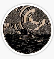 Loon Sticker