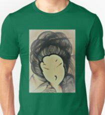 art deco sahara geisha by Jackie Smith , House of Harlequin Unisex T-Shirt