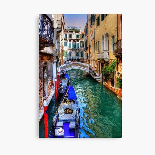 Venice Canal Canvas Print