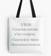 Perfect One Direction Tote Bag