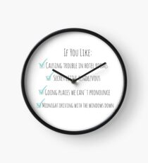 Perfect One Direction Clock