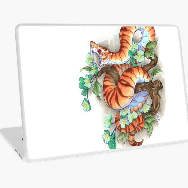 tiger snake Laptop Skin