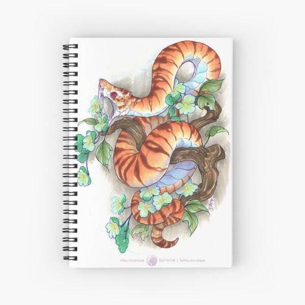 tiger snake Spiral Notebook