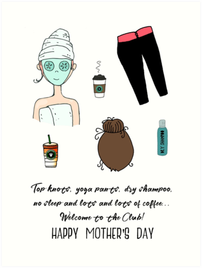 For a new mom on Mother's Day by Laura-Lise Wong