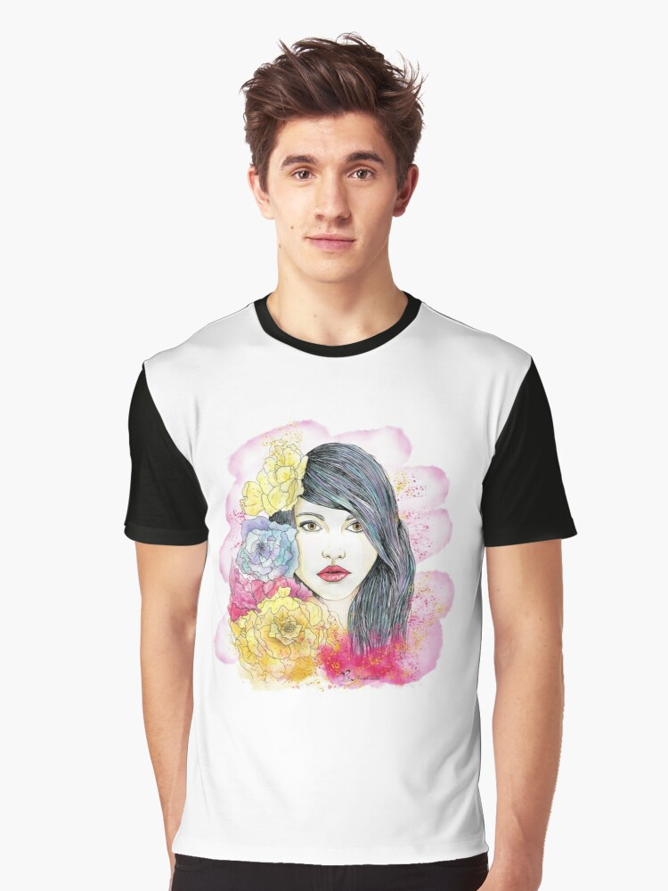 Spring Beauty Graphic T-Shirt Front