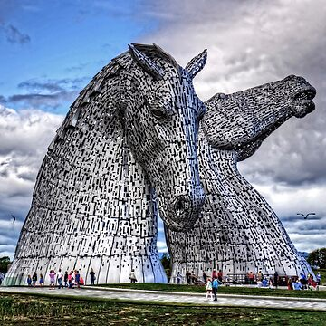 The Kelpies by tomg