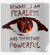 Fearless and Powerful Poster