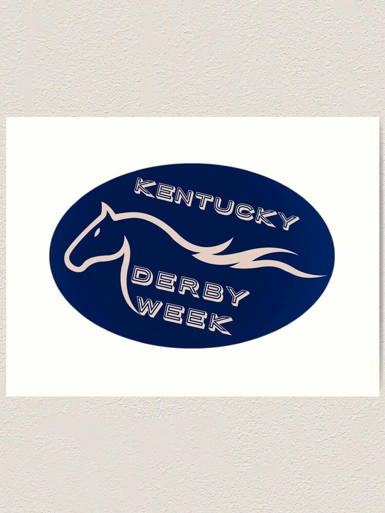 Louisville Kentucky Horse Race Churchill Downs Travel Wall Decor Poster Print