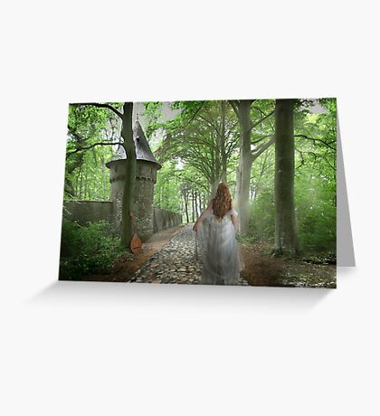 Castle Walls Greeting Card