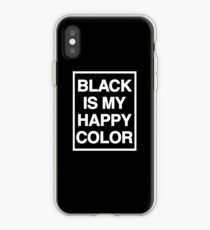 black is my happy color (Sana's Case) iPhone Case