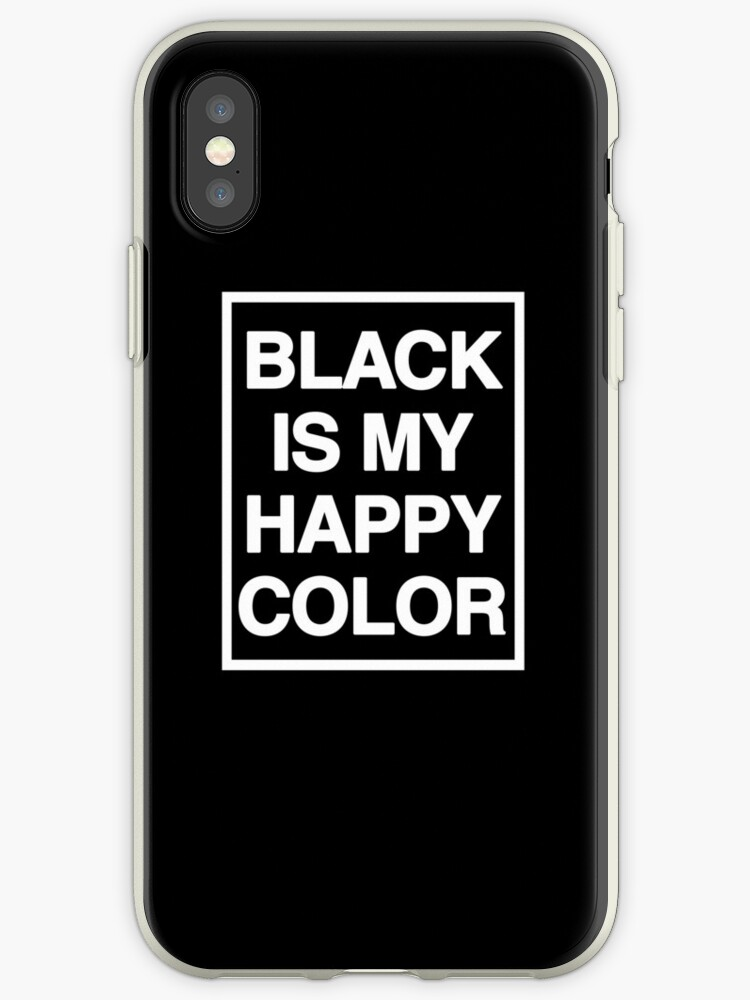 black is my happy color (Sana's Case) by coinho