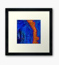 Blue Force Framed Print