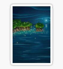 Shanties - Moonlit Mangroves Sticker