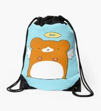 Angel Hamster Drawstring Bag