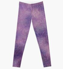 Pale Scale Pattern Leggings