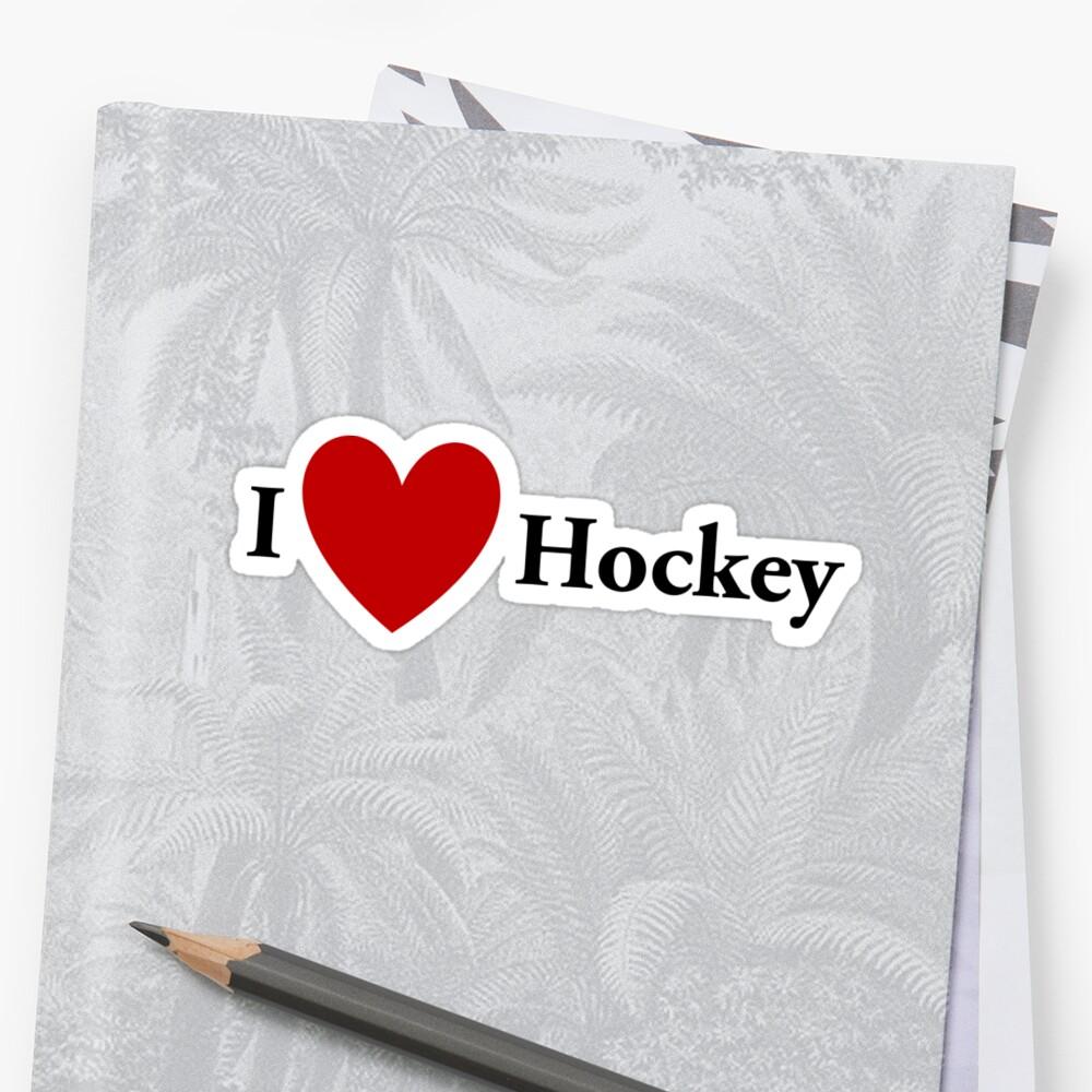 I Heart Hockey by redbubbletom55