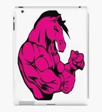 MUSCULAR HORSE !!! iPad Case/Skin