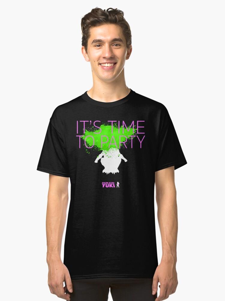 Daikaiju Yuki - IT'S TIME TO PARTY Classic T-Shirt Front