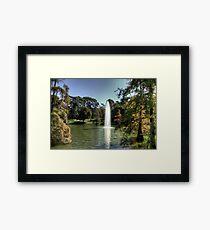 Lámina enmarcada Palacio de Cristal Lake