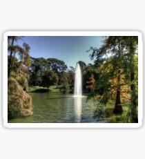 Pegatina Palacio de Cristal Lake