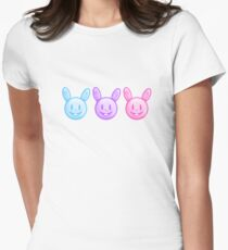 Three Colorful Easter Bunnies T-Shirt