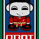 Ace Yum O'BABYBOT Toy Robot 2.0 by Carbon-Fibre Media
