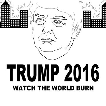 Trump 2016 (Black ver.) by ScrapBrain