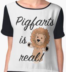 Pigfarts is Real Chiffon Top