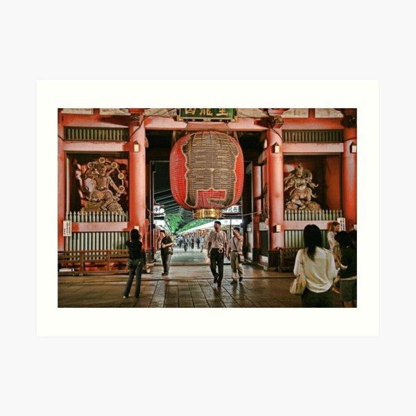 Tokyo Temple Art Print