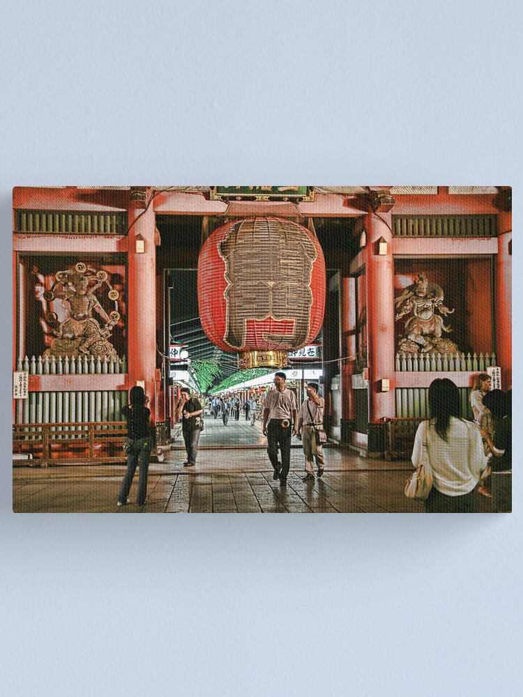 Alternate view of Tokyo Temple Canvas Print