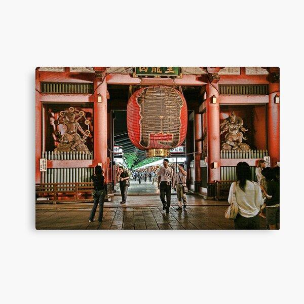 Tokyo Temple Canvas Print