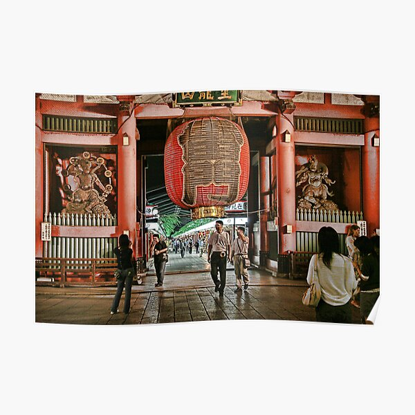 Tokyo Temple Poster
