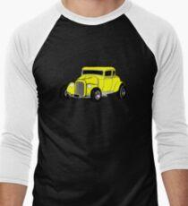 Hot Rod Men's Baseball ¾ T-Shirt