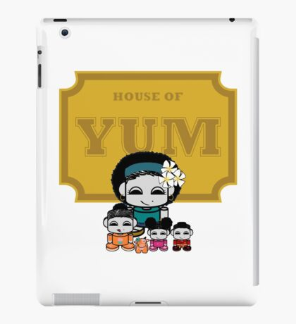 O'BABYBOT: House of Yum Family iPad Case/Skin