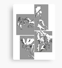 Cowboy Bebop Panels 2 Canvas Print
