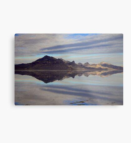 Silver Mountains Metal Print